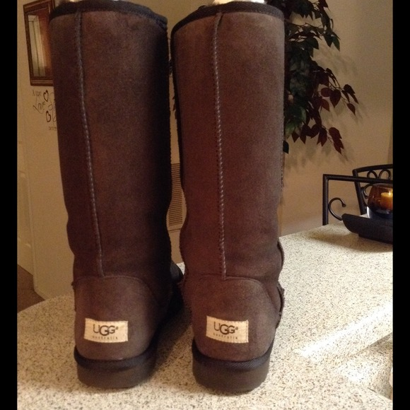 chocolate tall ugg boots