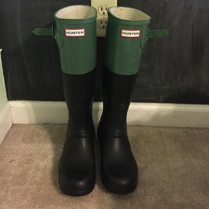 HUNTER rain boots AUTHENTIC!!