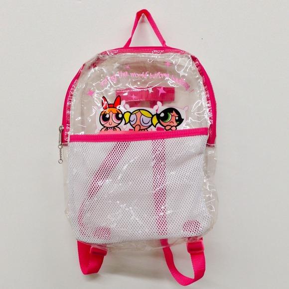 Girls Clear Backpack Click Backpacks