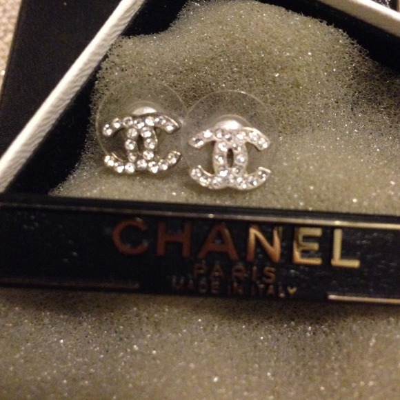 Chanel Classic Stud Earrings Classic Chanel Mini Stud