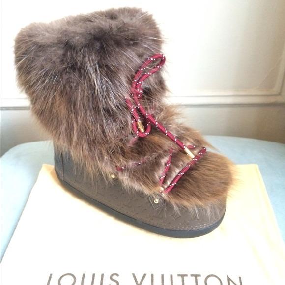 dd5f0d70fbdb Louis Vuitton Off Piste Half Boot size 39