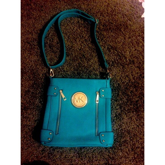 b9ef97e9beab Michael Kors Bags | Sold On Vintedturquoise Side Bag | Poshmark