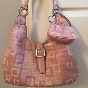 Beautiful Pink Nine West Handbag