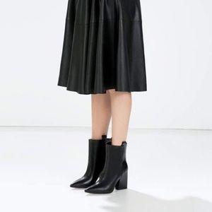 Cowboy Heeled Shoes Zara