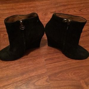 Sam Edelman suede wedge