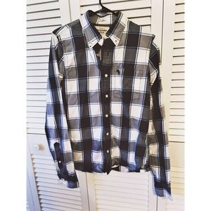 MEN'S: Abercrombie & Fitch Plaid Flannel 