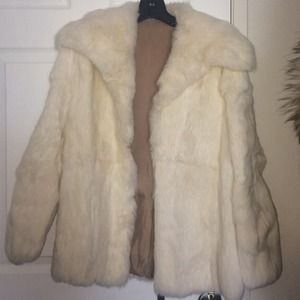 Jackets & Blazers - Real rabbit fur jacket.
