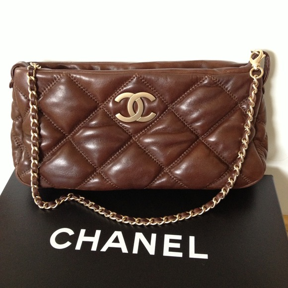 CHANEL Handbags | Rare Bubble Lambskin Purseclutch | Poshmark