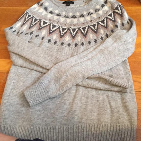 Ann Taylor - Ann Taylor fair isle sweater M from Denise's closet ...