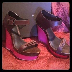 Bottega Veneta platform sandal