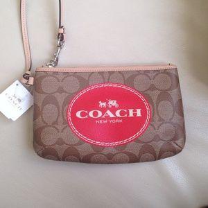 Coach Clutches & Wallets - Authentic Coach Wristlet