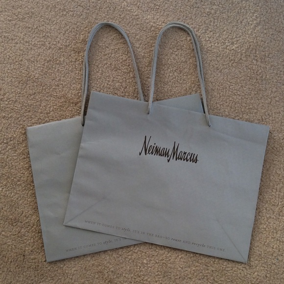 Neiman MarcusR Shopping Bags X 2