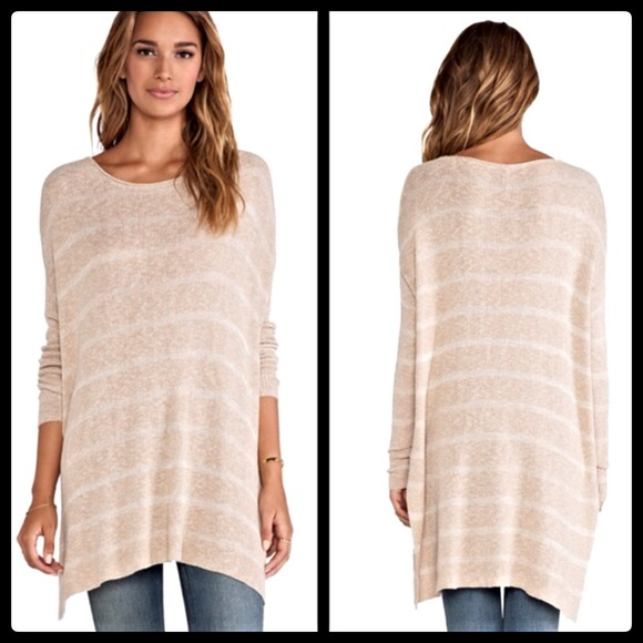 49% off Free People Sweaters - Free People $128 Oversized Striped ...