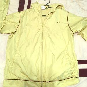 Nike light green jacket, size medium