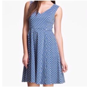 kate spade Dresses & Skirts - NWT kate spade blue polka dot dress