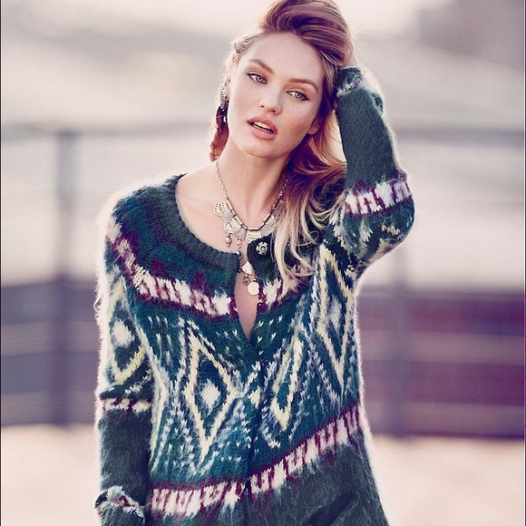 37% off Free People Sweaters - Free People 'Frosted' Fair Isle ...