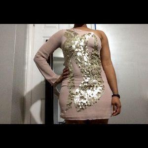 One shoulder ASOS dress