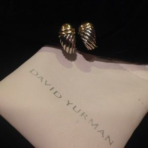 Authentic David Yurman Shrimp Earrings
