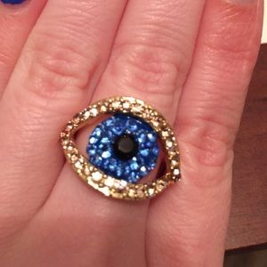 Jewelry - Gold Evil Eye Ring