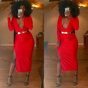 Dresses & Skirts - 🎉HOST PICK 🎉NWOT Sexy Low Cut Dress