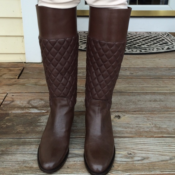 e7f06570d New Michael Kors Brown quilted boots. M_54d4ff9a522b451757007c36