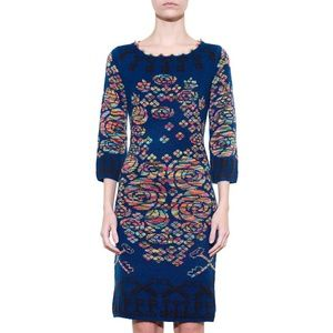 Key Dress - Blue