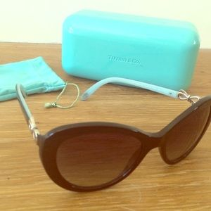 16a9b8d93787 Tiffany & Co. Accessories | Tiffany Cateye Bow Sunglasses | Poshmark