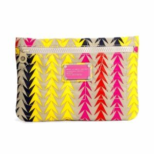 Marc Jacobs Arrow Multicolor Nylon Printed Pouch