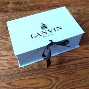 Lanvin Accessories - Lanvin Shoe Box