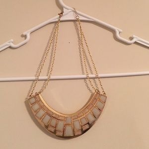 Never worn gold Grecian inspired necklace!
