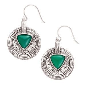 Silpada Emerald Isle Earrings