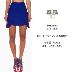 Dresses & Skirts - Knit Peplum Skirt