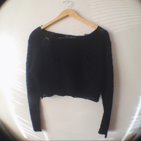 50% off Urban Outfitters Sweaters - ❌ SOLD ❌ UO Black Knit ...