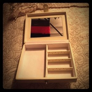 Pottery Barn Jewelry Case
