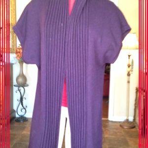 Tarnish Sweaters - Sweater shrug Purple LOW PRICE