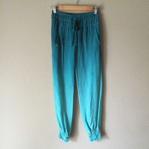 Turquoise Ombre Harem Guess Pants