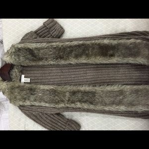 Kenar Tops - Fur Sweater