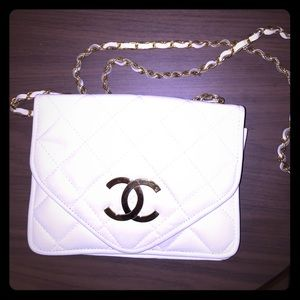 Vintage authentic Chanel Crossbody acceptin offers
