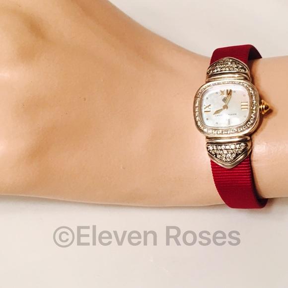 david yurman accessories david yurman sterling silver diamond capri watch