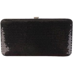 Forever 21 Accessories - Forever 21 sequin clutch wallet black new