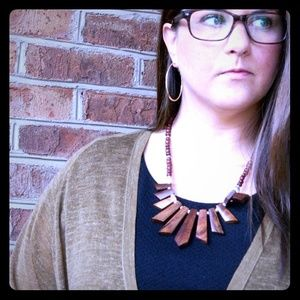Forever 21 Jewelry - Wooden Necklace