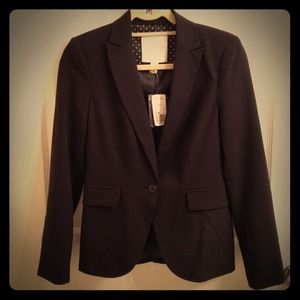 NWT Forever 21 Essentials Black Blazer