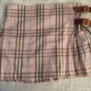 Authentic Burberry mini skirt