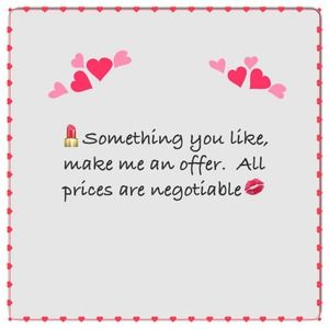 Other - Everything is negotiable!!!