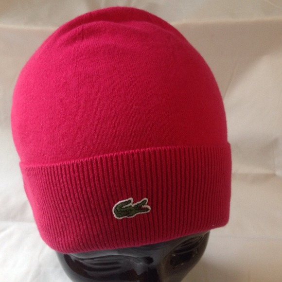 4ee76c28b 100%Authentic Lacoste Beanie Anjou Color/Pink/Sz.1 NWT