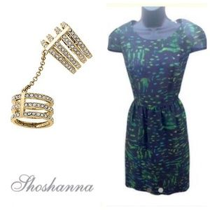 NWOT Shoshanna Printed Dress
