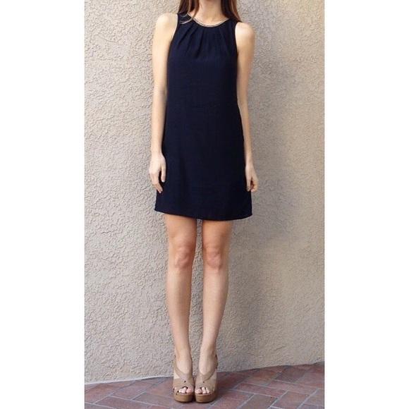 | new | black shift dress