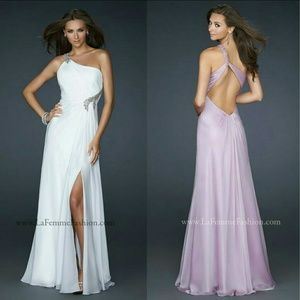 La Femme Dresses & Skirts - NEW Purple Prom Dress