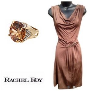 2x HP Rachel Roy Mesh Back Dress