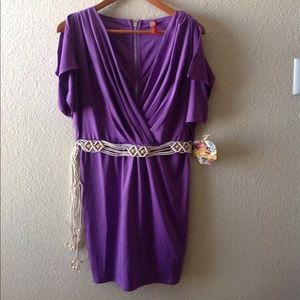 Sexy purple, Apple Bottoms Dress. NWT!!